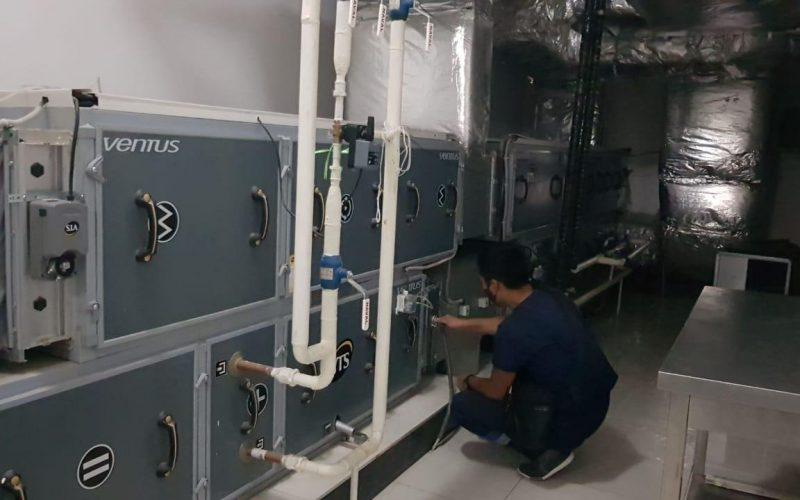 монтаж, техническое обслуживание и ремонт систем вентиляции и кондиционирования