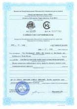 Сертификат соответствия. Системы менеджмента профессиональной безопасности и здоровья.